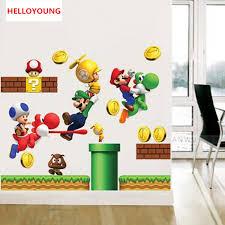 Super Cheap Home Decor Online Get Cheap Super Mario Wallpapers Aliexpress Com Alibaba