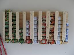 Food Storage Cabinet 16 Diy Canned Food Organizers