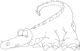 alligator coloring sheets coloring