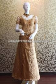 wedding dress kebaya wedding dress kebaya modern gold indonesia 2015 buy kebaya