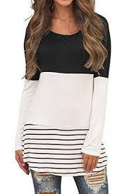 womens casual sherosa s casual color block lace inset sleeve t shirt