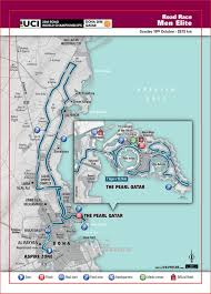 Doha Map Cycling Road World Championships Tv Info Odds Dates Route Maps