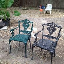 wrought iron patio furniture hometalk