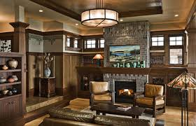 arts and crafts style homes interior design three more great homes third craft and craftsman