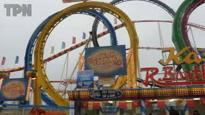 olympia looping ride hyde park winter
