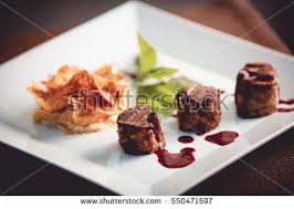 haute cuisine dishes fried dishes haute cuisine garlic stock photo royalty free