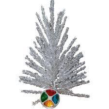 christmas aluminumhristmas tree rl 1l vintage andolor wheel