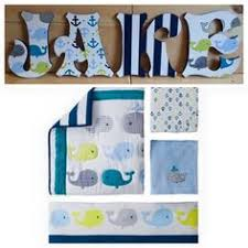 Whale Crib Bedding Circo 4pc Crib Bedding Set Whales N Waves Crib Bedding Sets