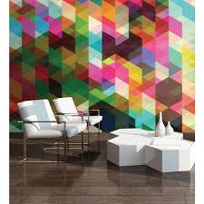 wall decor at the home depot geometrix wall mural