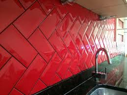 white kitchen black tiles 4 red black tile with grout murca
