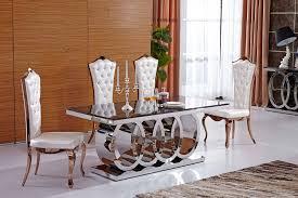 luxury italian style dining table black marble top 180cm ebay