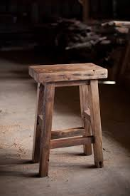 repurposed chair ideas distressed wood counter stools reclaimed