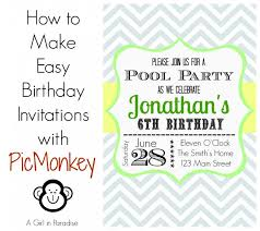 how to make a birthday invitation how to make a birthday