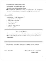 Sample Resume For Sap Mm Consultant Sap Basis Resume Format Sap Basis Administration Cover Letter
