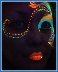 glow in the makeup neon glow in the makeup makeup fashion styles ideas