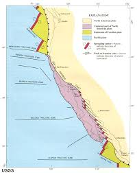 San Andreas Fault Line Map Gotbooks Miracosta Edu Oceans