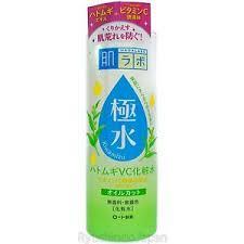 Toner Mizu rohto hadalabo kiwamizu mineral amino toner 400ml adlay essence