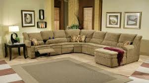 Sectional Sofa Reclining Sectional Sofa With Recliner Microfiber Catosfera Net