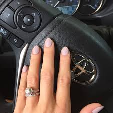 clean almond oval shaped nails opi mod about you gel opi