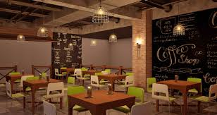 cafe design industrial theme middle east talents awards