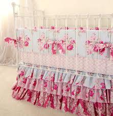 bedding set shabby chenille crib bedding amazing shabby chic