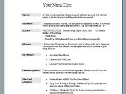 Sample Resume Education Section Resume Blast Service Free Resume Example And Writing Download