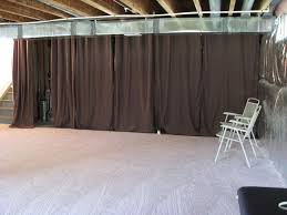 cool design temporary wall ideas basement best 25 unfinished