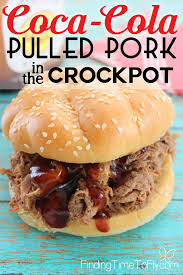 crockpot coca cola pulled pork finding time to fly
