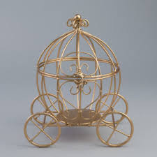 carriage centerpiece 11 5 gold cinderella pumpkin carriage wedding centerpiece