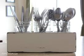 Kitchen Utensil Holder Ideas Organizer Silverware Holder Kitchen Utensils Holder Flatware