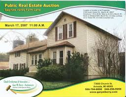 brochures from michigan real estate auctions gary m berry