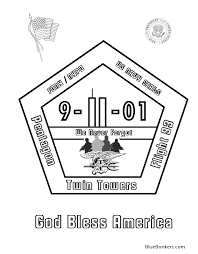 9 11 coloring pages 9 11 01 memorial rememberance coloring