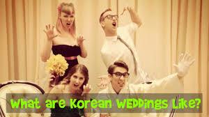 wedding wishes in korean what are korean weddings like