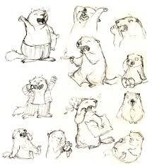 coloriage marmotte à colorier dessin à imprimer ragondin