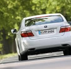lexus allrad diesel alternative antriebe lexus ls 600h das hybrid monstrum welt