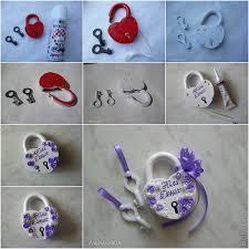 ideas diy pretty wedding padlock
