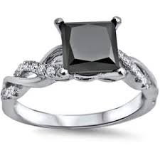 cheap princess cut engagement rings princess engagement rings for less overstock