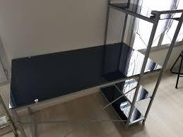 bureau noir laqué achetez bureau noir laqué quasi neuf annonce vente à limay 78