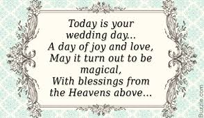 wedding blessing words from your heart words of congratulations for a wedding