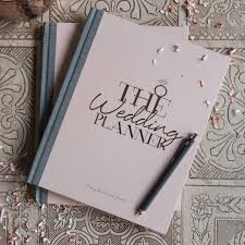 wedding planning journal wedding planner notebook and journal by illustries
