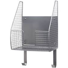 tv board industrial spectrum wall mounted single basket w ironing board holder