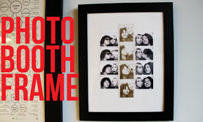 Photo Booth Frames Unusually Lovely Create Something Blog Framing Photobooth Photos