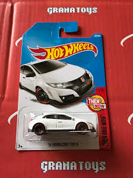16 honda civic type r 327 white 2017 wheels case p new 1