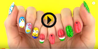 wow diy nail art tools with 5 easy nail art designs candymesh
