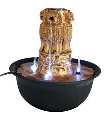 indoor fountain with light buy importwala white glass ceramic multicolor led light indoor