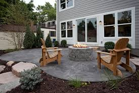 small courtyard designs patio contemporary with swan chairs sted concrete patterns patio traditional with adirondack chairs