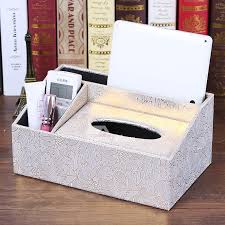 tissue paper box paper box rectangular brown decorative cover crafts leather