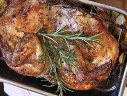 cuisiner lapin au four recette de la semaine poulet rôti à l italienne et sa polenta