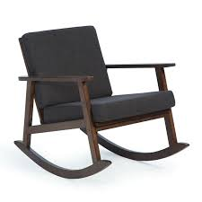 Rocking Chair Online Belham Living Mcrae Mid Century Rocking Chair Hayneedle