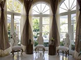 creative arched window treatments unique arched window